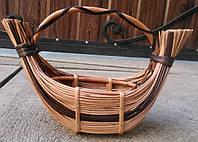 Корзина длинная плетеная, фото 1