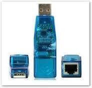 USB сетевая карта адаптер LAN ethernet RJ45