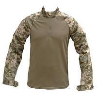 Тактическая рубашка убакс UBACS новый украинский камуфляж ММ-14 х/б