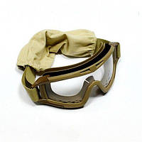 Тактические очки Desert c 3-мя линзами