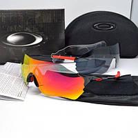 Тактические очки Oakley EVZero path черные