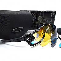 Тактические очки Oakley Jawbreaker на 3 линзы
