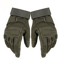 Тактические перчатки Blackhawk полнопалые olive