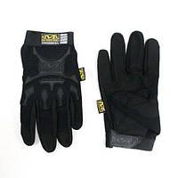 Тактические перчатки MECHANIX с пальцами black