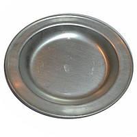 Тарелка армейская неглубокая алюминиевая