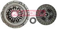 Сцепление Daewoo Lanos,Nexia,Opel Kadett E (диск нажимной, ведомый, подшипник) (производство KAMOKA)
