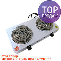 Электроплита Domotec MS-5802 плита настольная/ Плита на две конфорки