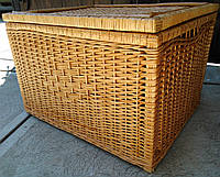 Ящик для белья плетеный квадратный, фото 1