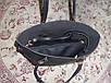 Модная женская вместительная черная сумка в сумке, фото 3