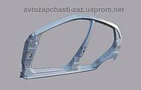 Панель боковины наружная LH Chery Forza J15-5400010-dy. Крыло заднее ZAZ Forza. Боковина левая Форза-хетчбек