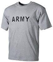 Футболка MFH US Army серая