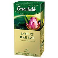 Чай  Greenfield Lotus Breeze пакетированный  25пак.