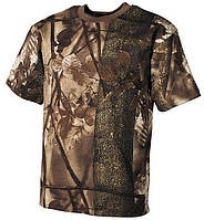 Футболка MFH US T-Shirt hunter - braun