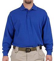 Футболка Поло с длинным рукавом 5.11 Tactical синяя