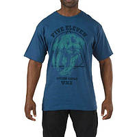 Футболка с рисунком 5.11 Apex Predator T-Shirt Harbor blue