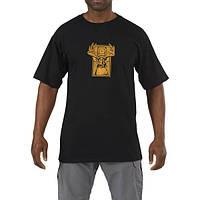 Футболка тактическая 5.11 Trophy T-Shirt черная