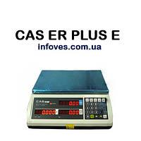 Весы торговые CAS ER-Plus E (15 кг)