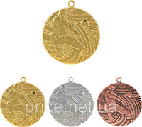 """Медаль """"Волейбол"""" MMC1540/B с лентой (бронза)"""