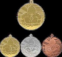 """Медаль """"Плавание"""" MMC1640/B с лентой (бронза)"""