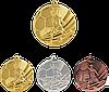 """Медаль """"Футбол"""" MMC5055 с лентой"""