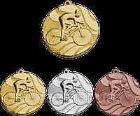 """Медаль """"Велоспорт"""" MMC5350/B с лентой (бронза)"""