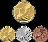 "Медаль ""Футбол"" MD2450/B с лентой (бронза)"