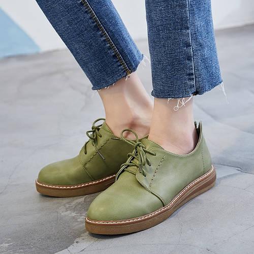 01618513b6db Молодежные туфли в ретро стиле