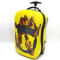 """Детский дорожный чемодан на колесах трансформеры 18"""""""
