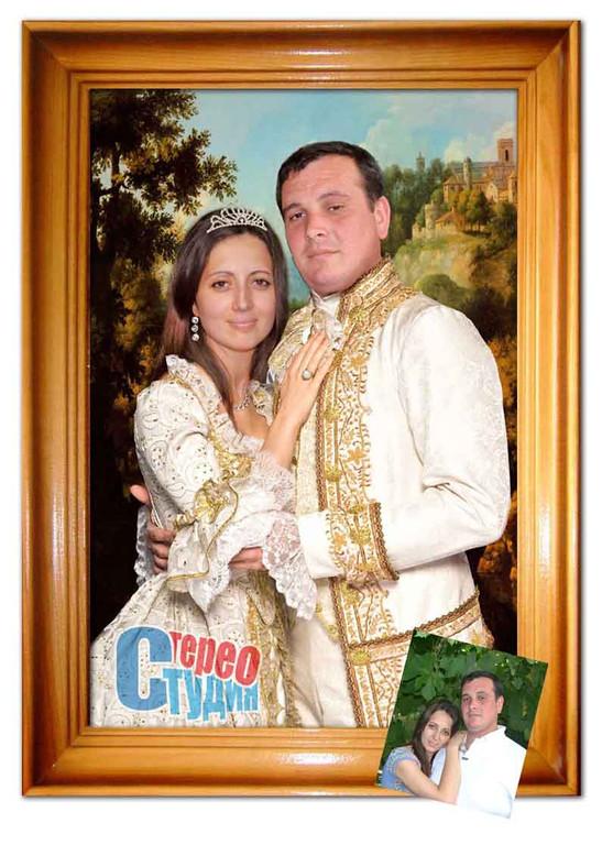 портрет семья Алексей Николаевич