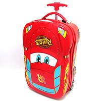 """Детский дорожный чемодан на колесах Тачки18"""""""
