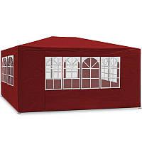 Новый павильон садовый, торговый 3х4 м, красный