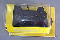 Игровой манипулятор (джойстик) PS2 проводной в блистере (DS)
