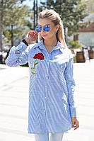 Женская рубашка туника, фото 1