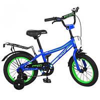 Велосипед детский 14д PROF1 L14103 3 цвета BI