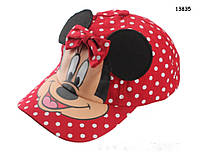 Кепка Minnie Mouse для девочки. 52-54 см, фото 1