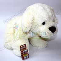 Мягкая игрушка Щенок белый (35 см)
