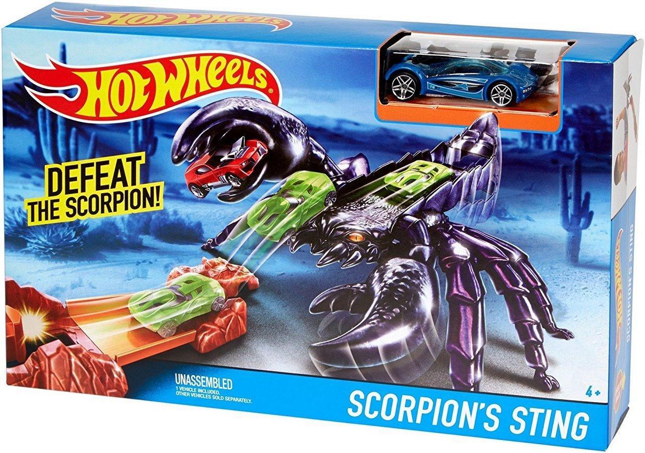 """Трек """"Город Чудовищ"""" Hot Wheels™ - (Scorpion`s Sting) DWK97-DWK94"""