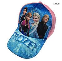 Кепка Frozen для девочки. 50-53 см