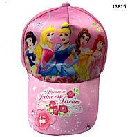 Кепка Disney Princess для девочки. 50-53 см