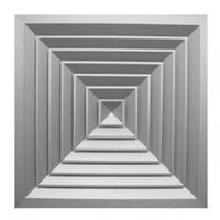 Алюминиевые диффузоры (квадратные)