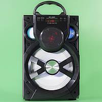 Портативная колонка Samsung MS-186BT черная для прослушивания музыки c Bluetooth беспроводная динамик мощная
