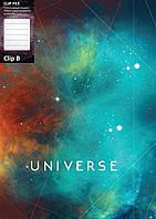 """Папка с прижимом Папка А4 с боковым прижимом CLIP В  """"Universe"""" Optima O31271 ассорти (O31271(ассорти) x 124796)"""