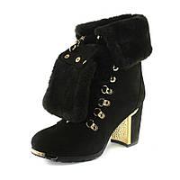 Ботинки зимние женские Sorte Felice W703-Y9311-6M-5 коричневые