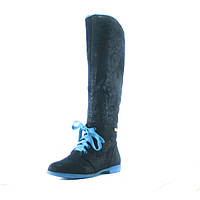 Сапоги зимние женские Elmira 3-215 синие