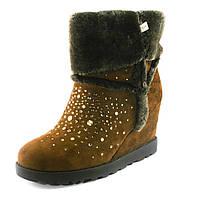 Ботинки зимние женские Sorte Felice W668-Y2548-6M-1 коричневые