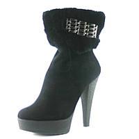 Ботинки зимние женские Elmira N10-419 черные