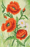 Схема для вышивки бисером Изящные цветы