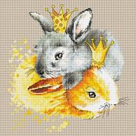 Набор для вышивки крестом Кролики
