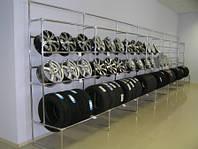 Изготовим и установим под ключ торговое оборудование для Вашего магазина для авто дисков