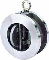 Клапан обратный межфланцевый двухстворчатый из нержавеющей стали Genebre модель 2402